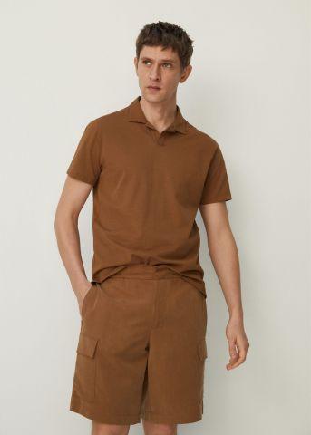 מכנסי ברמודה עם כיסים של MANGO