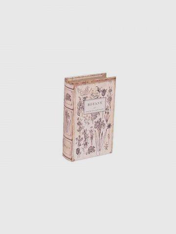 ספר דקורטיבי בוטניק / גדול של FLORALIS