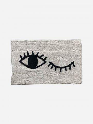 שטיח עם דוגמת עיניים / 50X80 של FLORALIS