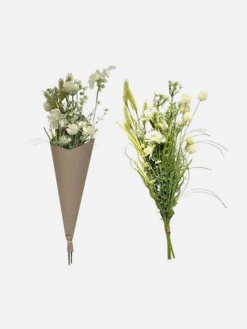 זר פרחים מלאכותי - פילד פלאוור של FLORALIS