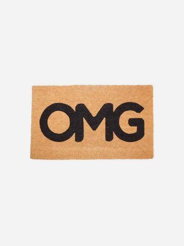 שטיח סף עם הדפס OMG של FLORALIS
