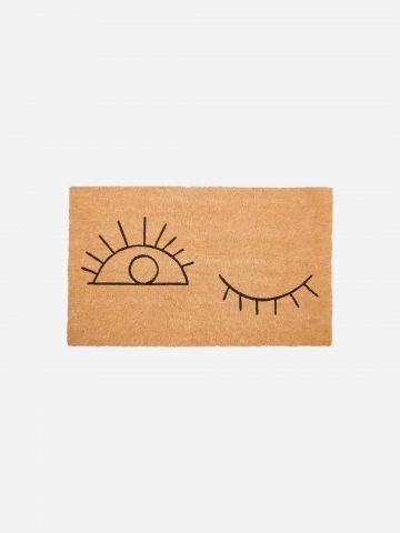 שטיח סף עם הדפס עיניים של FLORALIS