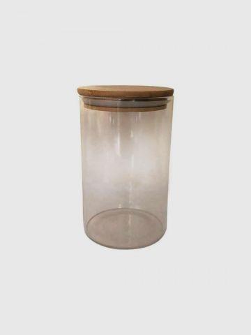 כלי אחסון זכוכית עם מכסה של FLORALIS