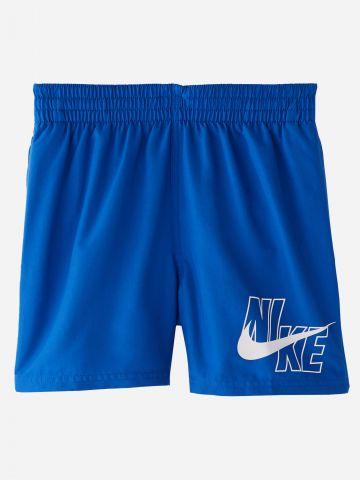 מכנסי בגד ים עם הדפס לוגו / בנים של NIKE