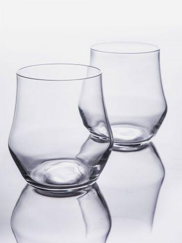 סט 2 כוסות אלטר נמוכות 38 מ״ל של ARCOSTEEL