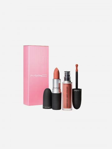 קיט שפתיים פאודר קייס Powder Kiss Lip Kit: Like Daughter של MAC