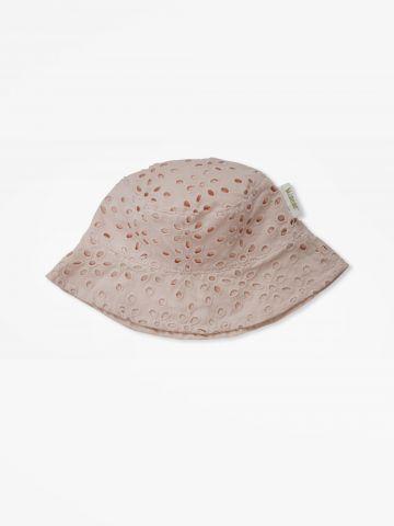כובע קיץ תחרה בגזרת באקט / 0-24M של MINENE
