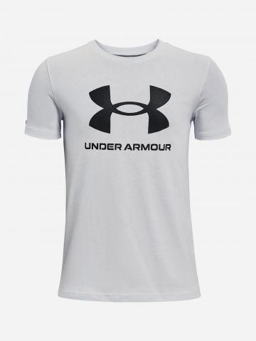 טי שירט עם לוגו / בנים של UNDER ARMOUR