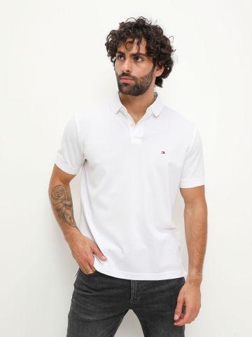 חולצת פולו עם רקמת לוגו Slim Fit של TOMMY HILFIGER