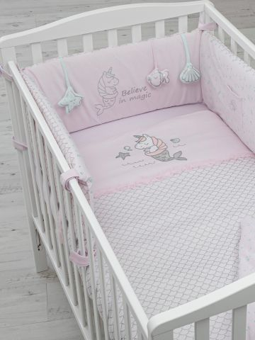 סט למיטת תינוק חד קרן / בייבי של SHILAV