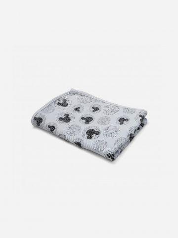 שמיכת פיקה למיטת מעבר בהדפס מיקי מאוס / בייבי של SHILAV