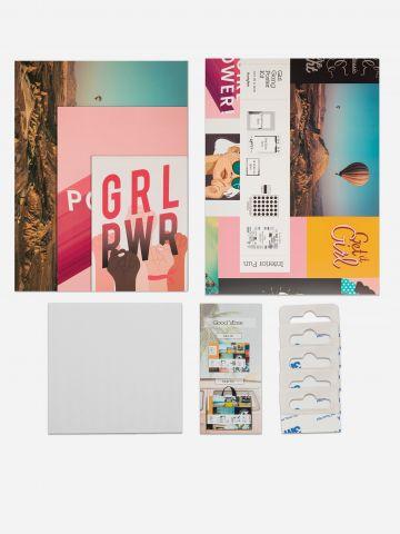 ערכת עיצוב בייסיק חדר GIRL GANG של FUNKY FISH