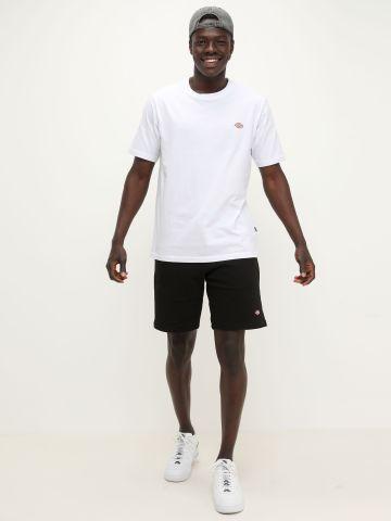 מכנסי טרנינג קצרים עם הדפס לוגו של DICKIES