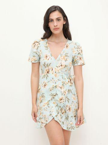 שמלה בסגנון מעטפת בהדפס פרחים של BILLABONG