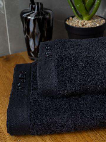 מגבת גוף עם רקמת לוגו / 70X130 של REPLAY