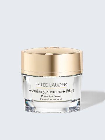 קרם לחות רב תכליתי לטיפול בסימני הזדקנות והבהרת העורRevitalizing Supreme+ Bright Power Soft Creme 50 של ESTEE LAUDER