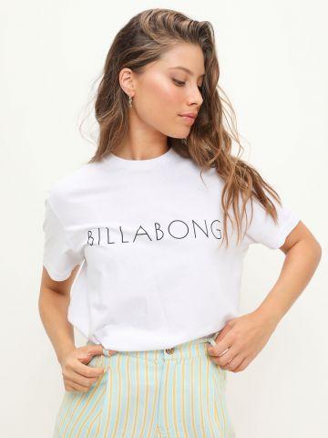 טי שירט קצרה עם הדפס לוגו של BILLABONG