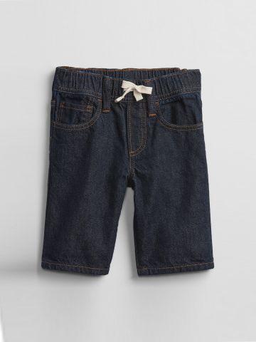 ג'ינס קצר עם גומי במותן / 12M-5Y של GAP