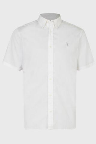 חולצה מכופתרת קצרה / גברים של ALL SAINTS