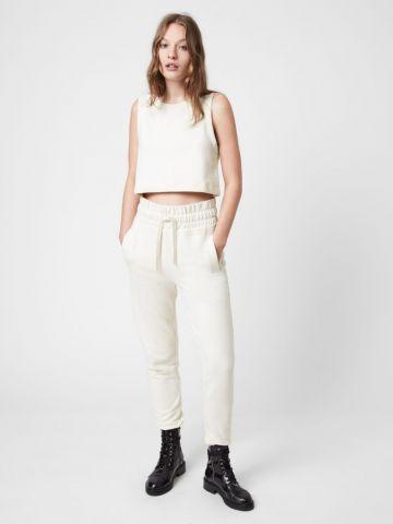 מכנסי טרנינג עם רקמת לוגו של ALL SAINTS