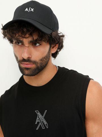 כובע עם רקמת לוגו / גברים של ARMANI EXCHANGE