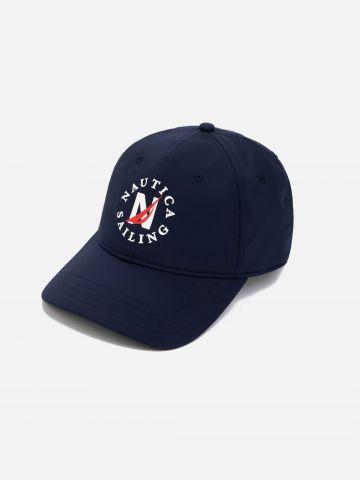 כובע מצחייה עם הדפס לוגו / גברים של NAUTICA