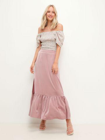 חצאית מקסי פפלום של YANGA