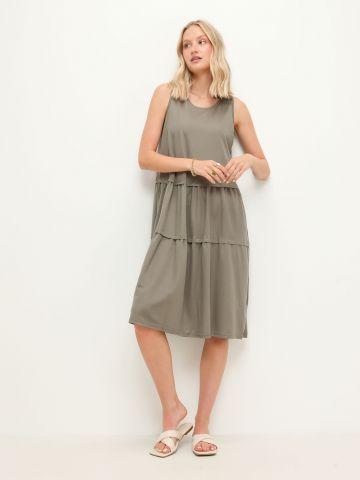 שמלת מידי קומות ללא שרוולים של YANGA