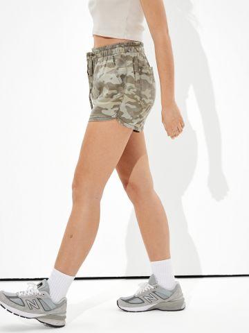 מכנסיים קצרים בהדפס צבאי / נשים של AMERICAN EAGLE