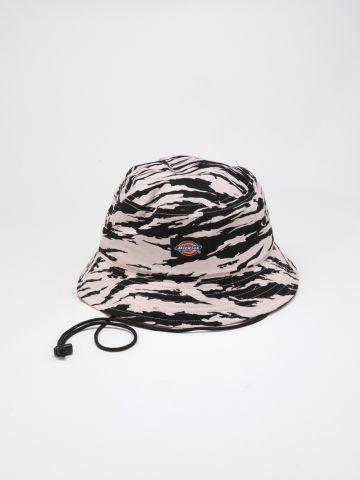 כובע באקט זברה עם לוגו / נשים של DICKIES