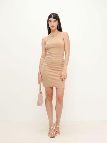 שמלת מיני בסגנון ריב של TERMINAL X
