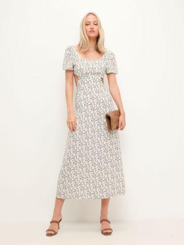 שמלת מקסי עם פתח גב דקורטיבי של GLAMOROUS