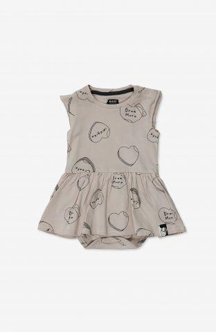 שמלת בגד גוף בהדפס / 3M-24M של MINENE