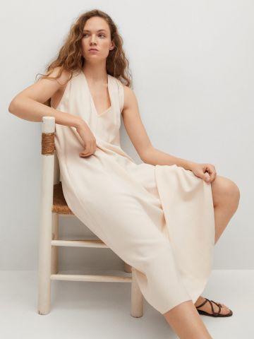 שמלה רחבה עם כיסים של MANGO