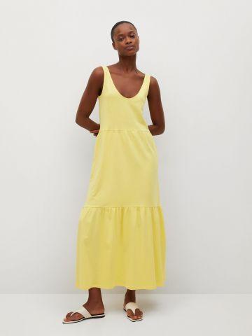 שמלת מידי בסגנון קומות של MANGO