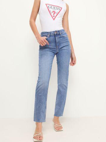 ג'ינס סקיני ארוך שטיפה כהה של GUESS
