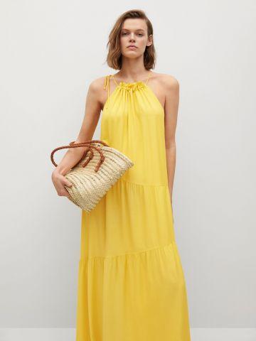 שמלה בסגנון קומות של MANGO