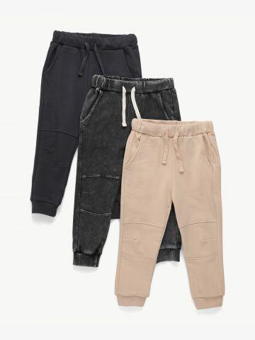 מארז 3 מכנסיים דקים פרנץ' טרי / 3M-14Y בנים של TERMINAL X KIDS