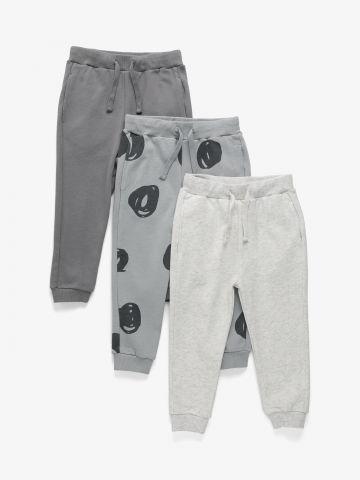 מארז 3 מכנסיים דקים פרנץ' טרי דקים / 3M-6Y בנים של TERMINAL X KIDS