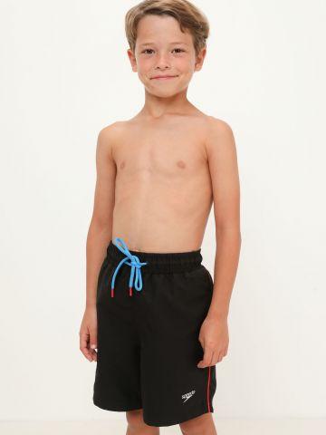 מכנסי בגד ים פס דקורטיבי של SPEEDO