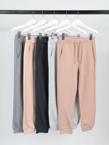 מארז 5 מכנסי טרנינג דקים פרנץ' טרי / 3M-14Y של TERMINAL X KIDS