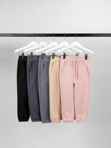 מארז 5 מכנסי פרנץ' טרי דקים / 3M-14Y של TERMINAL X KIDS