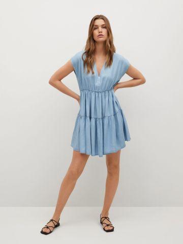שמלת מיני בסגנון ג'ינס של MANGO