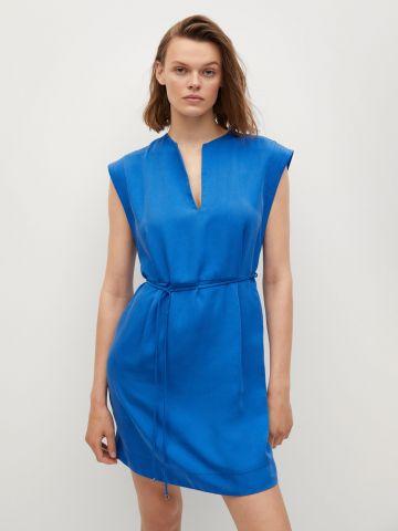 שמלת מיני חלקה של MANGO