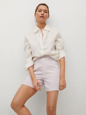 מכנסיים קצרים עם כיסים של MANGO