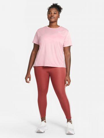 חולצת ריצה MILER / PLUS SIZE  של NIKE
