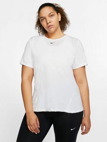 חולצת אימון עם לוגו / Plus Size של NIKE