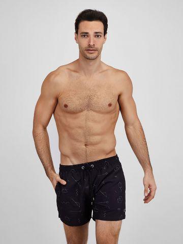 מכנסי בגד ים בהדפס צורות / גברים של EL CAPITAN