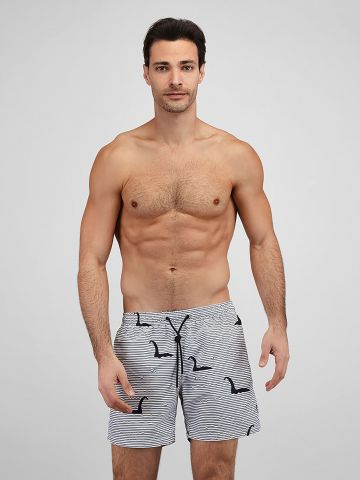 מכנסי בגד ים בהדפס פסים / גברים של EL CAPITAN