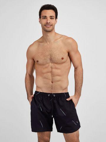 מכנסי בגד ים עם הדפס פסים / גברים של EL CAPITAN